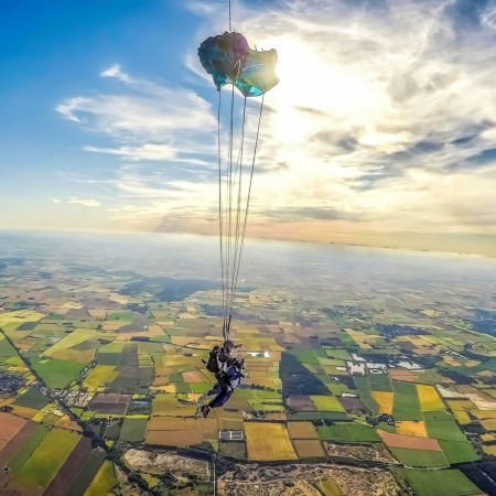 Skydiving Hibaldstow, Lincolnshire